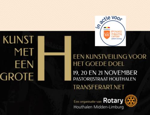 Rotary Houthalen Midden-Limburg organiseert: Kunst met een grote H
